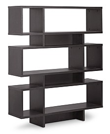 Sione 6 Shelf Modern Bookshelf, Quick Ship