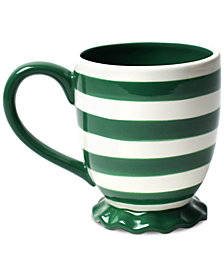 Coton Colors Spot On Ruffle Emerald Mug