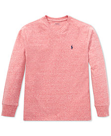 Polo Ralph Lauren Big Boys Cotton Long-Sleeve T-Shirt