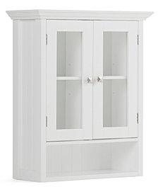Acadian Double Door Cabinet, Quick Ship