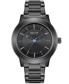 Kenneth Cole Reaction Men's Black Stainless Steel Bracelet Watch 46mm