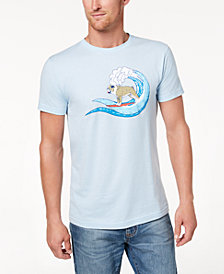 Club Room Men's Surfing Bulldog Graphic T-Shirt, Created for Macy's