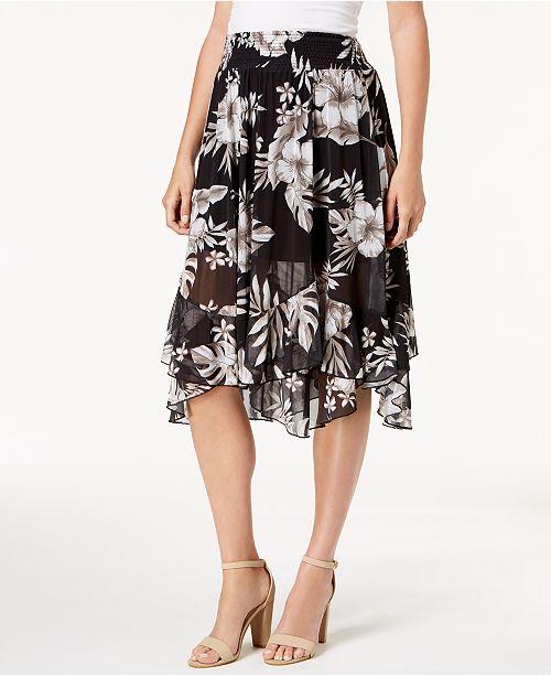 d3e0b2d8a7f56 John Paul Richard Petite Tiered-Hem Maxi Skirt - Skirts - Petites ...