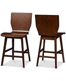 Thais Counter Stool (Set Of 2), Quick Ship