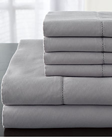 Stripe Luxury 1200-Thread Count 6-Pc. King Sheet Set