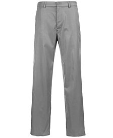 Greg Norman for Tasso Elba Men's Flat Front Pants, Created for Macy's