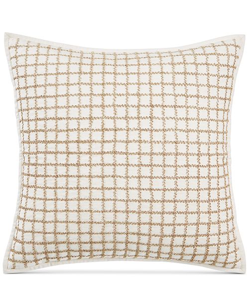 Hotel Collection Mosaic Grid 40 X 40 Decorative Pillow Created Interesting 22x22 Decorative Pillows