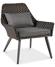 Maple Outdoor Accent Chair, Quick Ship