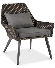 Maddox Outdoor Accent Chair, Quick Ship
