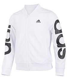 adidas Big Girls Cropped Adi Bomber Jacket