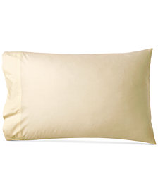 Donna Karan Cotton 600-Thread Count European Standard Pillowcase Pair