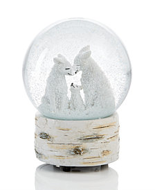 Holiday Lane Fox Waterglobe, Created for Macy's