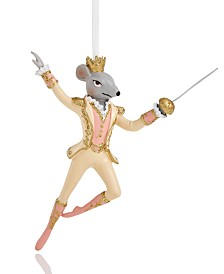 Holiday Lane Ballet Fairytale Mouse Ornament Created For Macy's