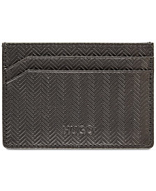 Hugo Boss Men's Subway Leather Card Case