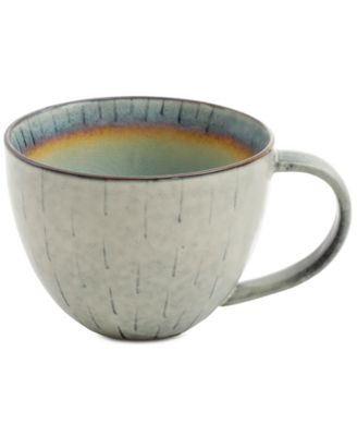 Elite Reactive Glaze Beige Mug