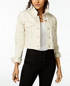 M1858 Olivia Cropped Denim Jacket