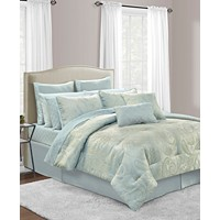 Sunham Stella 20-Pc. Queen Comforter Set
