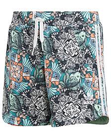 Adidas Originals Big Girls  Zoo-Print Shorts
