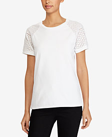 Lauren Ralph Lauren Petite Cotton T-Shirt