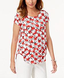 Alfani Printed T-Shirt, Created for Macy's