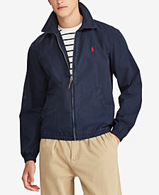 Polo Ralph Lauren Men's Bayport Cotton Windbreaker, Created for Macy's