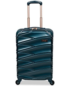 "Jesssica Simpson Vixen 20"" Hardside Carry-On Spinner Suitcase"