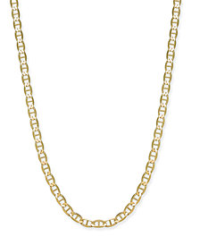 "Giani Bernini Mariner Link Chain 20"" Necklace in 18k Gold-Plated Sterling Silver Vermeil, Created for Macy's"