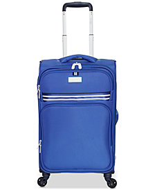 "Jessica Simpson Originals 21"" Softside Expandable Carry-On Suitcase"