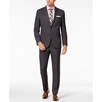 Deals on Kenneth Cole Reaction Mens Slim-Fit Techni-Cole Stretch Suit