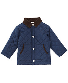 First Impressions Baby Boys Barn Jacket, Created for Macy's