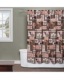 "Great Outdoors Printed 70"" x 72"" Shower Curtain"