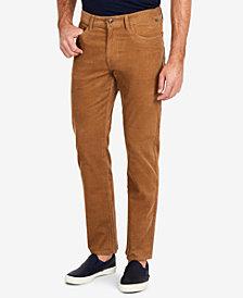 Nautica Men's Corduroy 5-Pocket Straight Fit Pants