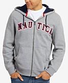 Nautica Mens Full-Zip Logo Hoodie Created for Macys