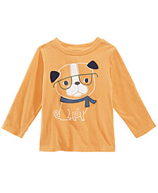 First Impressions Toddler Boys Dog-Print Cotton T-Shirt, Created for Macy's