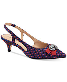 Charter Club Lollee Bow Slingback Pumps, Created for Macy's