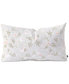 Deny Designs Holli Zollinger French  Anemone Light Oblong Throw Pillow