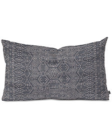 Deny Designs Holli Zollinger Marrakeshi Denim Oblong Throw Pillow