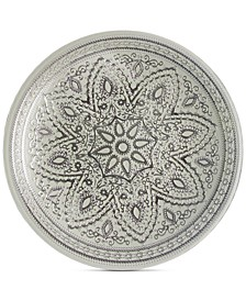 Jay Import Divine Silver Charger Plate