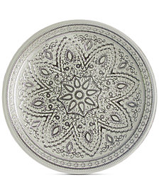 Jay Imports American Atelier Divine Silver Charger Plate