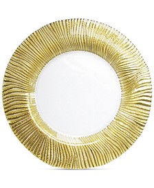 Jay Import Nilo Gold Charger Plate