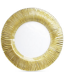 Jay Imports American Atelier Nilo Gold Charger Plate