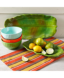 Gibson Tropical Melamine Serveware Collection, Created for Macy's