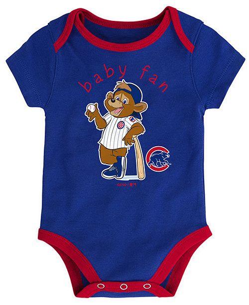d47e74961 Outerstuff Chicago Cubs Play Ball 3-Piece Set, Infants (0-9 Months) -  Sports Fan Shop By Lids - Men - Macy's