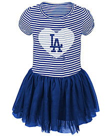 Outerstuff Los Angeles Dodgers Celebration Tutu Dress, Toddler Girls (2T-4T)