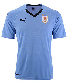 Puma Men's Uruguay Soccer National Team Home Jersey
