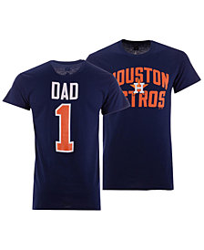 Majestic Men's Houston Astros Team Dad T-Shirt