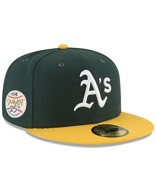e7d090e54 ... New Era Oakland Athletics Sandlot Patch 59Fifty Fitted Cap ...