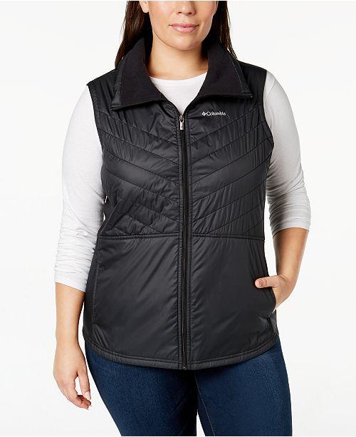 78d8b3a0f27 Columbia Plus Size Mix It Around™ II Vest   Reviews - Women - Macy s