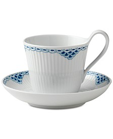 Princess High Handle Cup & Saucer