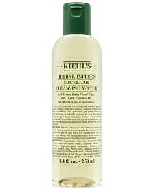 Kiehl's Since 1851 Herbal-Infused Micellar Cleansing Water, 8.4 fl. oz.